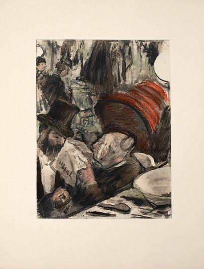 Degas Edgar (1834-1917), d'après  La famille...
