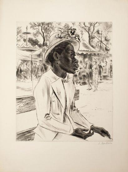 Boullaire Jacques (1893-1976)  Les boulistes...