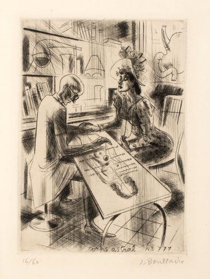 Boullaire Jacques (1893-1976)  Le pendule...