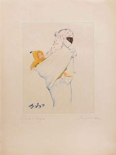 Delorme Marguerite (1876-1946)  Maternité...