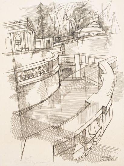 Despierre Jacques Céria (1912-1995)  Architecture...