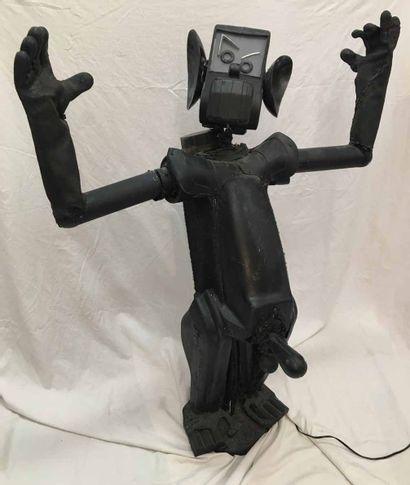 [ART BRUTAL] Totor, un monstre déglingué,...