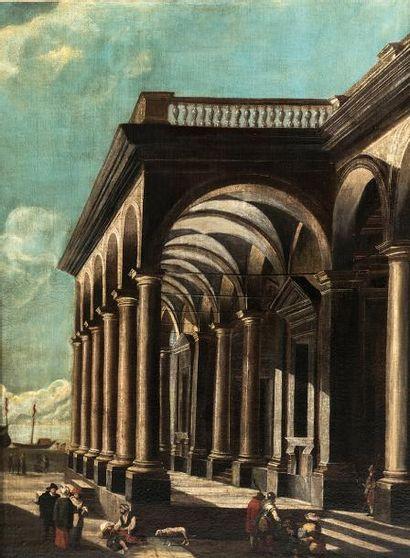École ITALIENNE vers 1700, suiveur de Viviano...