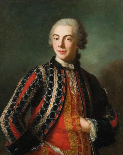 Marianne LOIR (Paris 1715-1769) Portrait...