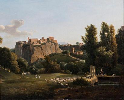 Attribué à Alexandre Hyacinthe DUNOUY (1757-1841)...