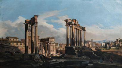 Ippolito Caffi (1809-1866) et son atelier...