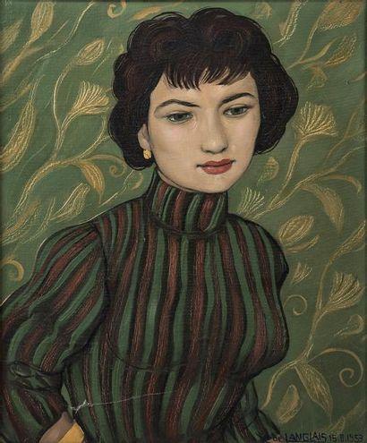 Xavier de Langlais (1906-1975) Portrait de...