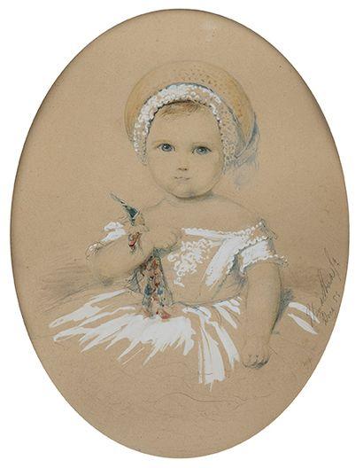 École française du XIXe?siècle   Portrait...