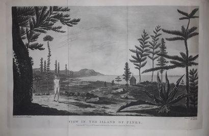 [VOYAGES de COOK] Réunion complète en 8 tomes dans son édition originale anglaise,...
