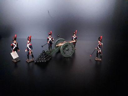EMPIRE. France. Artillerie CBG Mignot. 5...