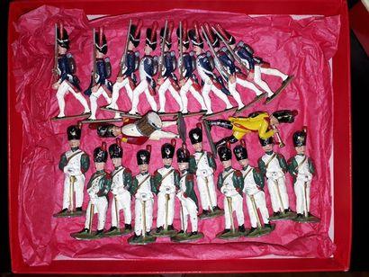 EMPIRE. France. Grenadiers de la Garde. 2...