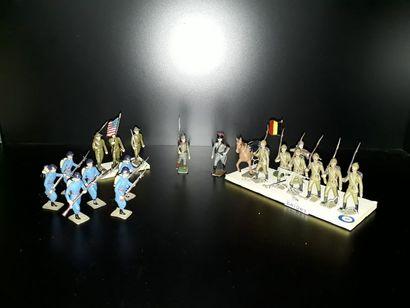 GERRE 14-18. Infanterie CBG Mignot. 3 jeux...