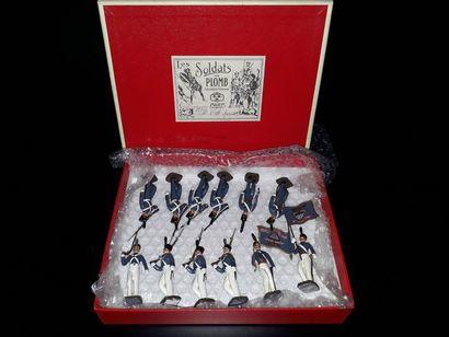 [WESTPOINT]. U.S.A. CBG Mignot. 12 figurines...
