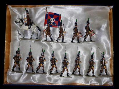 EMPIRE. Portugal. Infanterie Lucotte. 13...