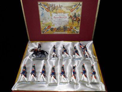 EMPIRE. France. Infanterie Lucotte. 13 figurines...