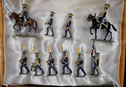 EMPIRE. Duché de Varsovie. Infanterie Lucotte....