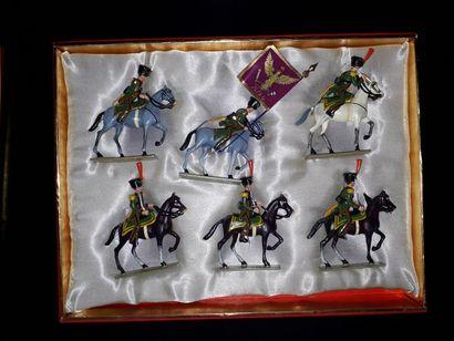 EMPIRE. Duché de Varsovie. Cavalerie Lucotte....