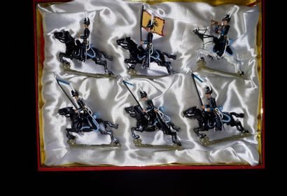 EMPIRE. Autriche. Cavalerie Lucotte. 6 figurines...