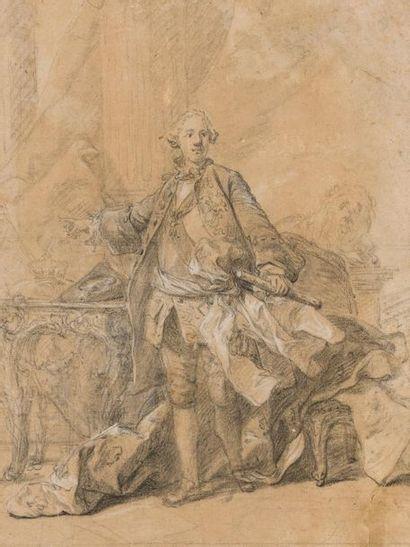 Attribué à Louis TOCQUE   (1696-1772)  ...