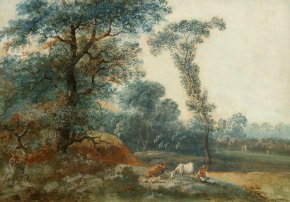 Lazare BRUANDET   (Paris 1755-1803)  ...