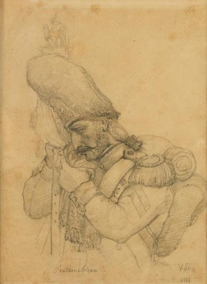 Jean Victor SCHNETZ   (1787-1870)   Officier...