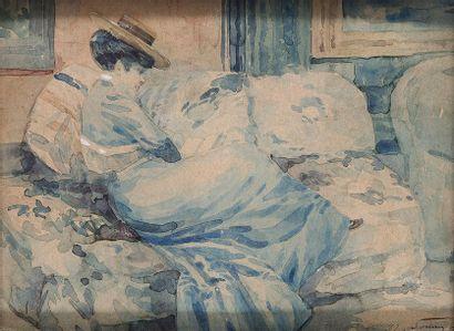 Henri SOMM   (Rouen 1810-Paris 1889)  ...