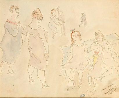 Jules PASCIN   (Vidin 1885-Paris 1930)...