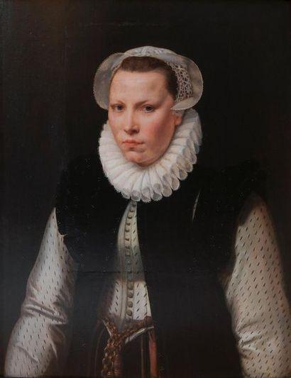 École FLAMANDE vers 1570,   entourage de...