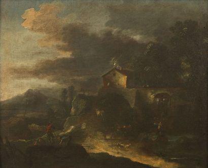École VÉNITIENNE du XVIIIe?siècle,   entourage...
