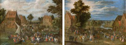 Attribué à Joseph van BREDAEL   (1688-1739)...
