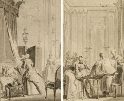 École FRANÇAISE   du XVIIIe?siècle   La...