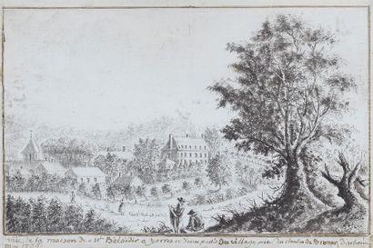 École FRANÇAISE du XVIIIe?siècle   Vue...