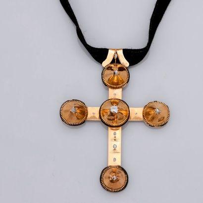 Grande croix « Capucine » Arlésienne en...