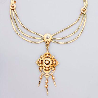 Très beau collier d'or...