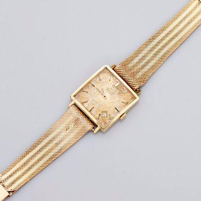 OMEGA ,    Bracelet montre d'homme...