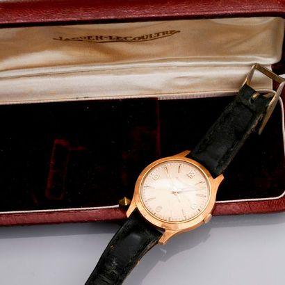 Bracelet montre d'homme en or jaune, 750...