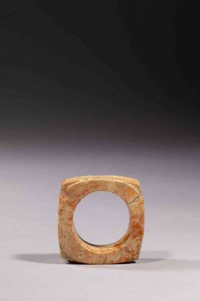 Zhong symbole de la terre de forme quadrangulaire...
