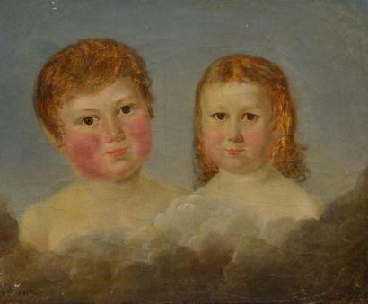 Adèle de VILLERS *** École française 1819....