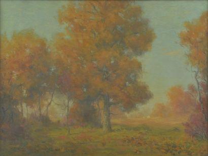 William Reuben Clark WOOD (1875-1915). Paysage...