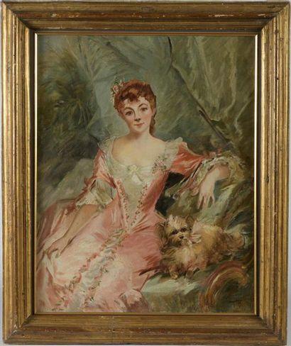 Francisque DESPORTES (1849-1908). Esquisse...