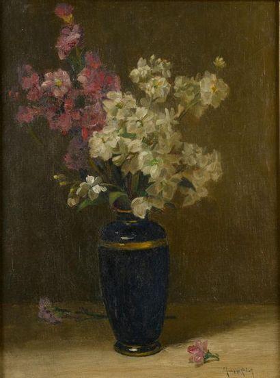 Maurice ELIOT (1862-1945). Bouquet de fleurs...