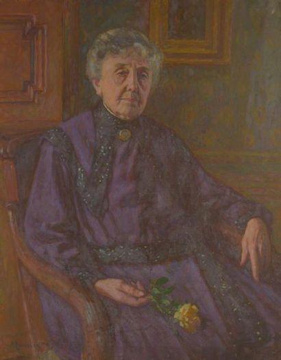 Maurice ELIOT (1862-1945). Potrait de la...