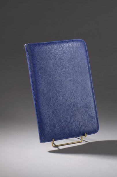 CHRISTIAN DIOR Protège bloc-papier et carte de visite à l'imitation du cuir grainé...