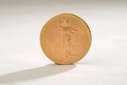 Pièce en or de 20 dollars américain