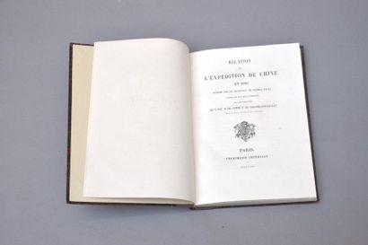 1863  Léopold Pallu  Relation de l'Expédition...
