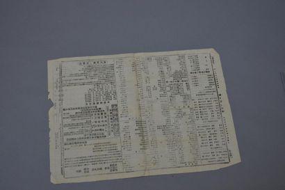 1891. Le journal Chinois de Cochinchine....