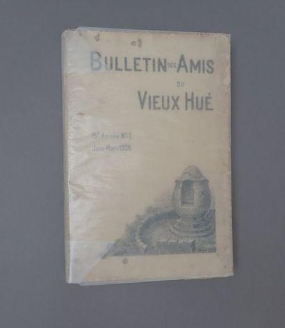 1928. CADIERE (L.), Tombeaux annamites dans...