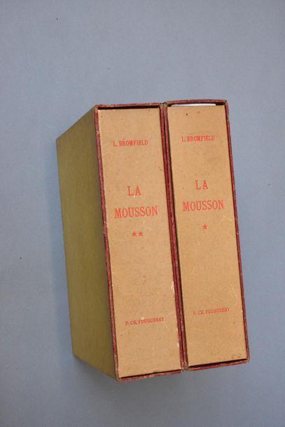 1947  BROMFIELD - FOUQUERAY  La Mousson....