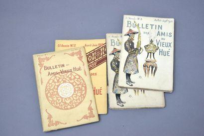 1918  Bulletin des Amis du vieux Hué. Année...
