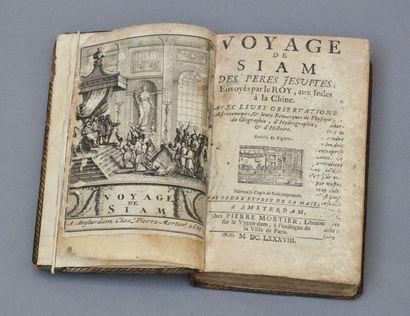 1688. TACHARD, Guy (1648-1712) : Voyage de...